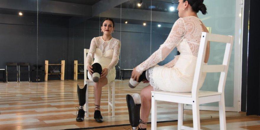 İki bacağı protez Türk dansçı Moskova'da dans edecek