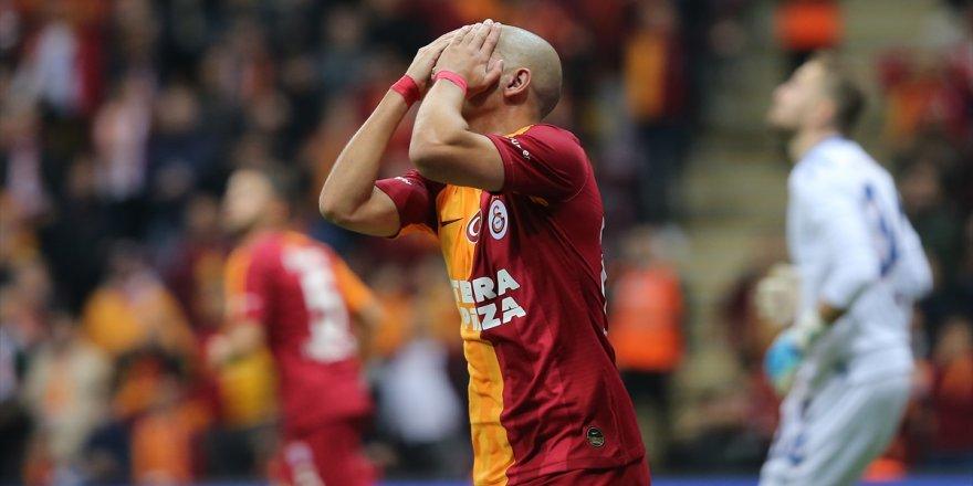 Galatasaray sahasında kayıp
