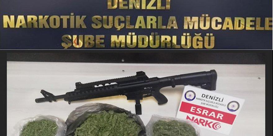 Denizli'de uyuşturucu operasyonunda19 tutuklama