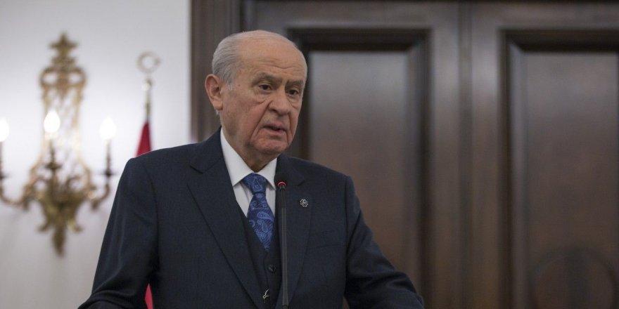 MHP Genel Başkanı Bahçeli'den af açıklaması