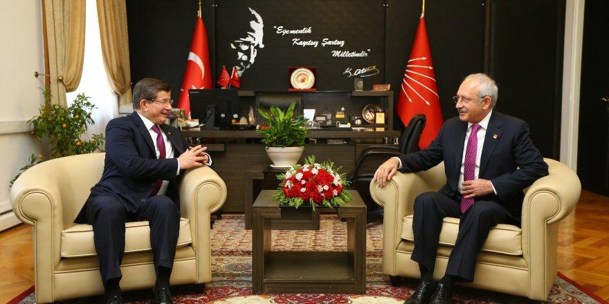 Davutoğlu'nun teklifine Kılıçdaroğlu'ndan destek!