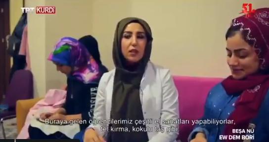 TRT Kürtçe'de ilginç anlar!