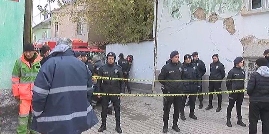 Konya'da bina çöktü! ölü ve yaralılar var!
