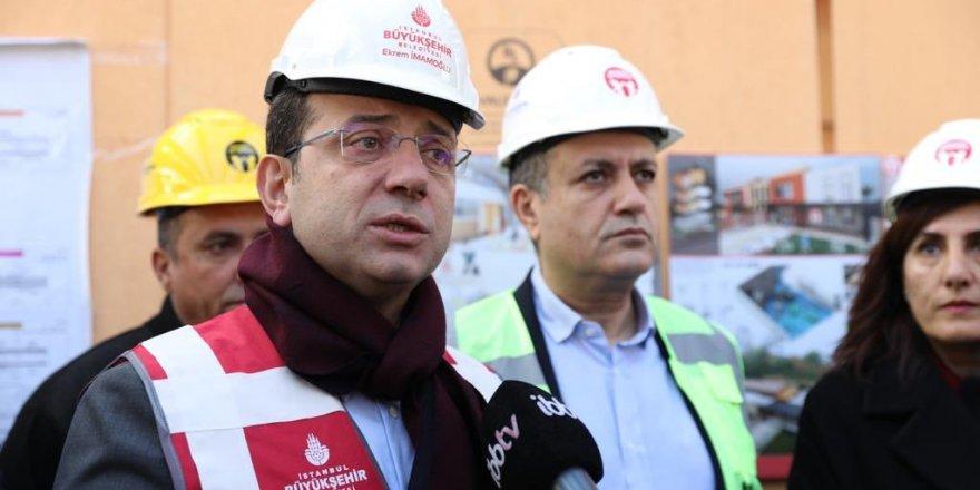 """Ekrem İmamoğlu: """"Beni çılgın projeler ilgilendirmiyor"""""""