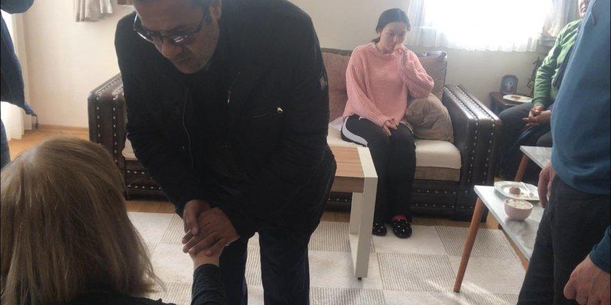 Özgecan'ın ailesinden, Ceren'in ailesine ziyaret