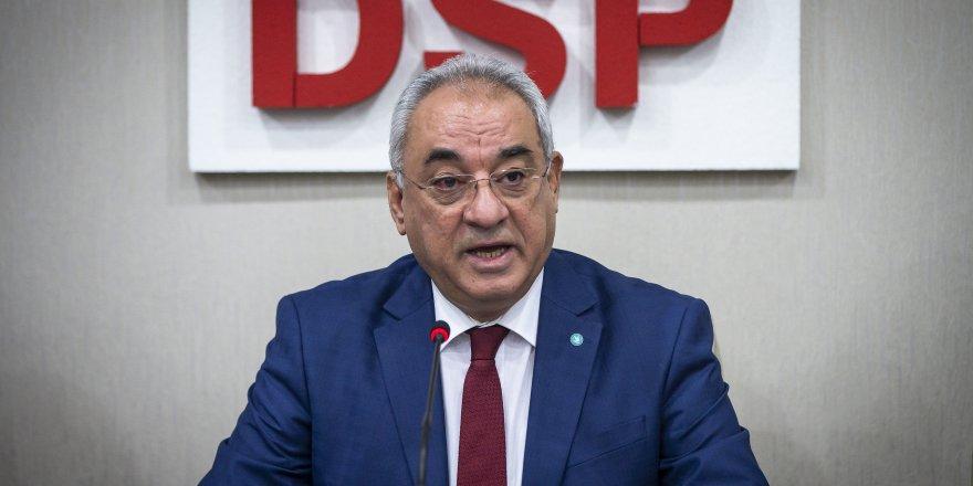 DSP'de Önder Aksakal yeniden genel başkan oldu