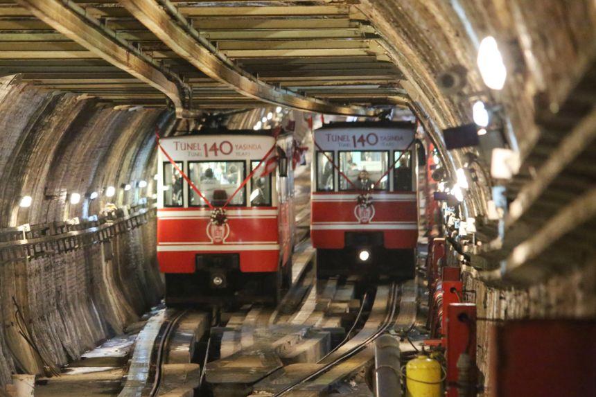 Türkiye'nin ilk metrosu Tünel 142 yaşında