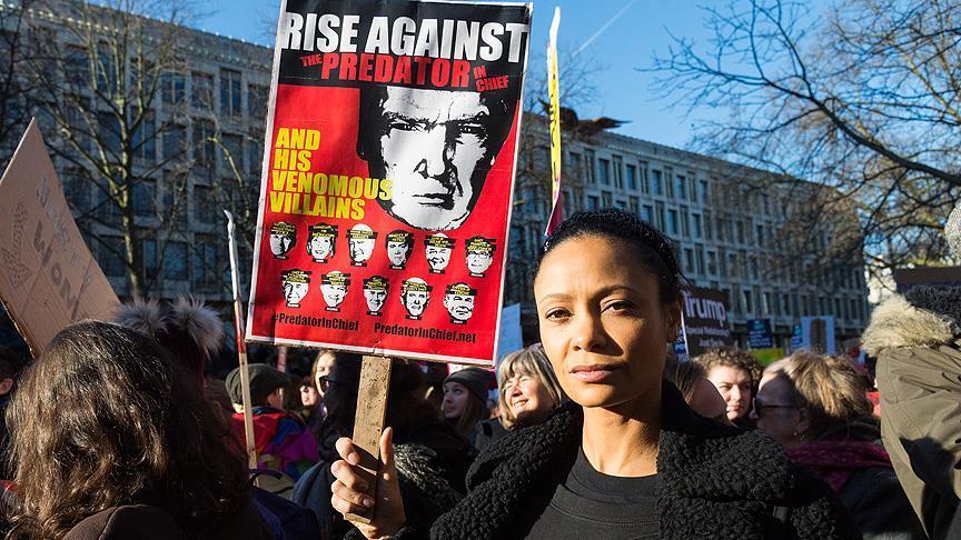 'Kadınlar Yürüyüşü'ne dünyadan destek