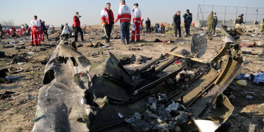 İşte Ukrayna uçağını İran füzesinin vurduğuna dair görüntüler!