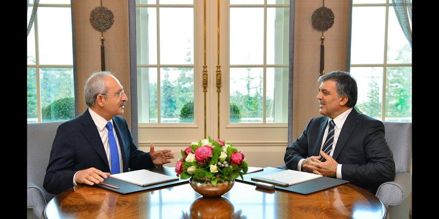 CHP lideri Kılıçdaroğlu'ndan Abdullah Gül açıklaması!
