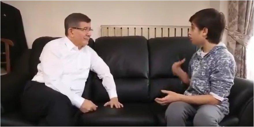 Ahmet Davutoğlu'ndan dikkat çeken TikTok paylaşımı