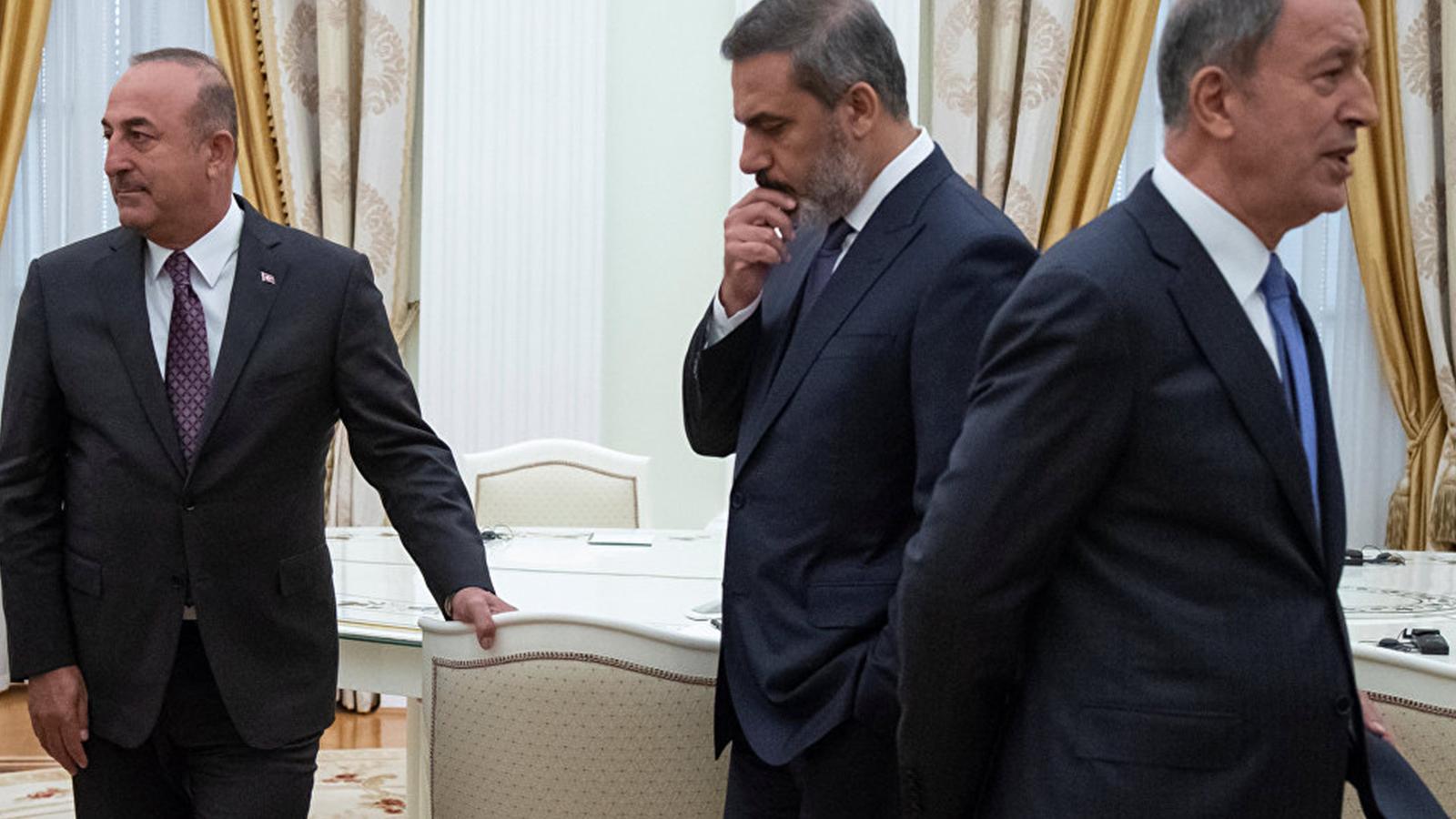 Akar, Fidan ve Çavuşoğlu Rusya'ya gidiyor