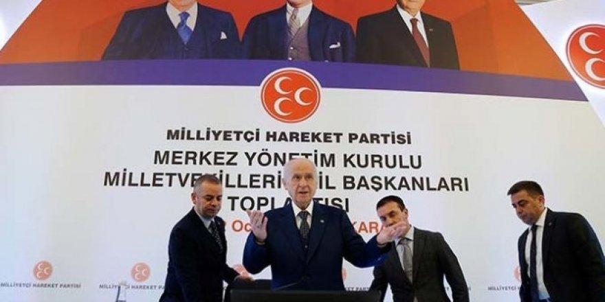 MHP, Ankara'da toplandı