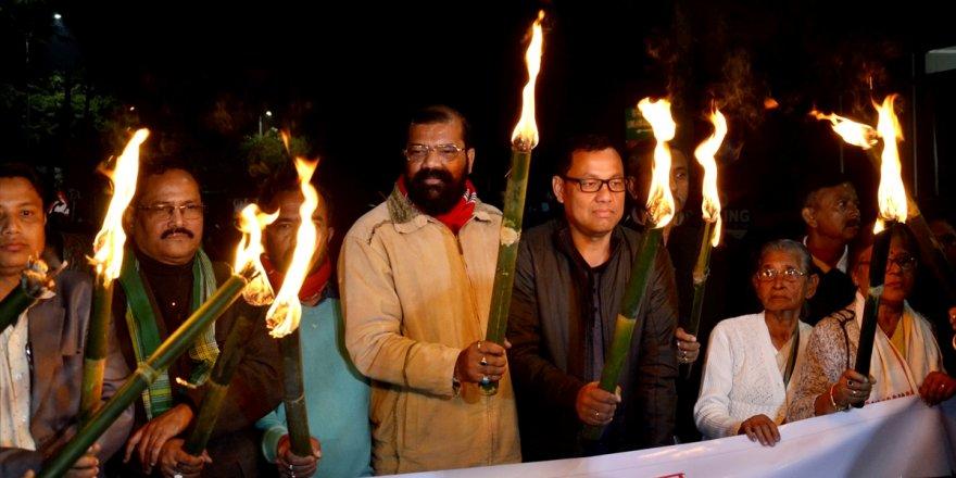 Hindistan'da Vatandaşlık Yasası'na karşı protesto