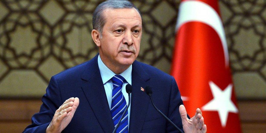 Erdoğan'dan Arapça taziye mesajı