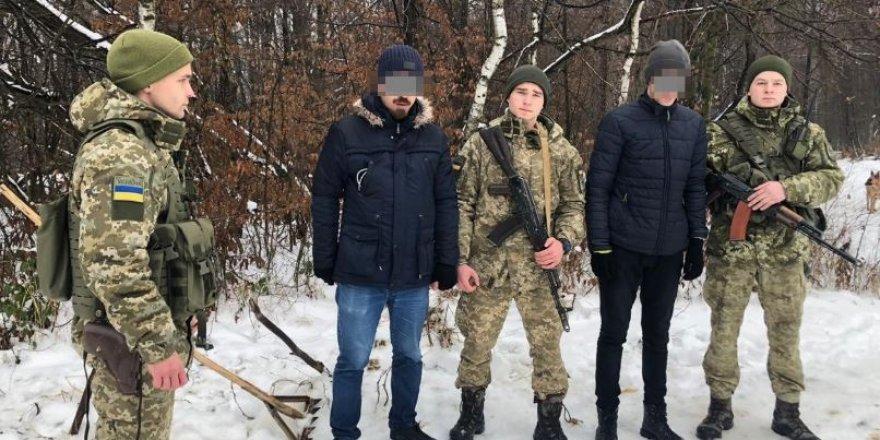 İki Türk, Ukrayna'dan Slovakya'ya geçerken yakalandı