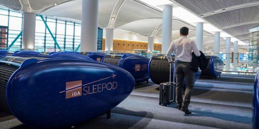 İstanbul Havalimanı'nda uyku kabini uygulaması başladı