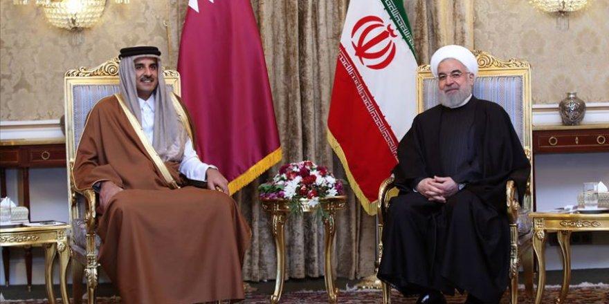 Katar Emiri'nden Tahran'a sürpriz ziyaret