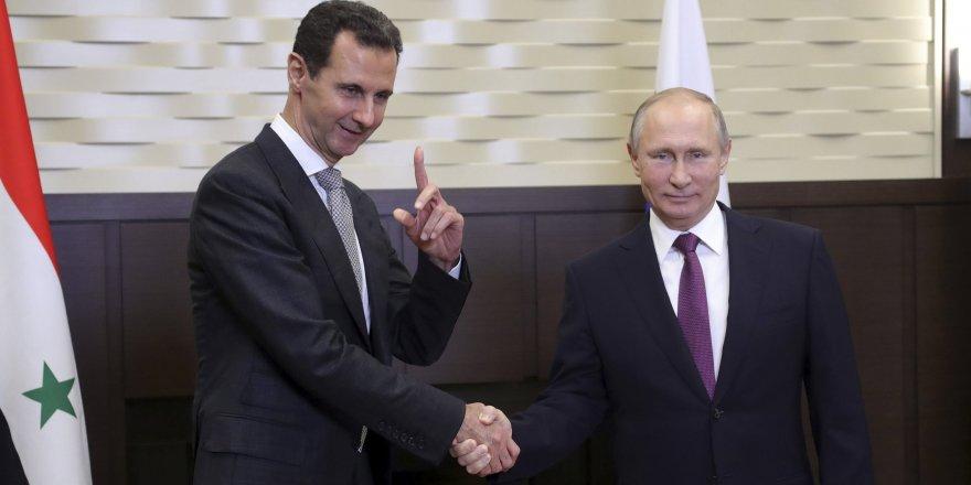 """Putin'den Esad'a: """"Trump'ı Şam'a davet edin"""""""