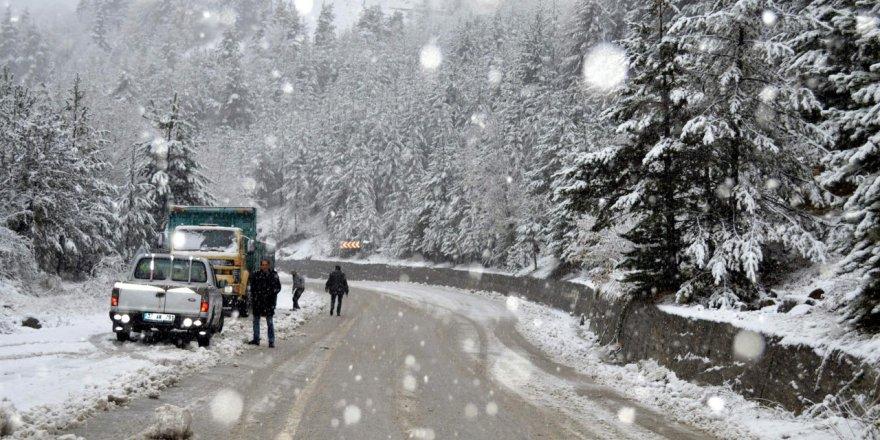 Meteorolojiden yağış ve kar uyarısı!