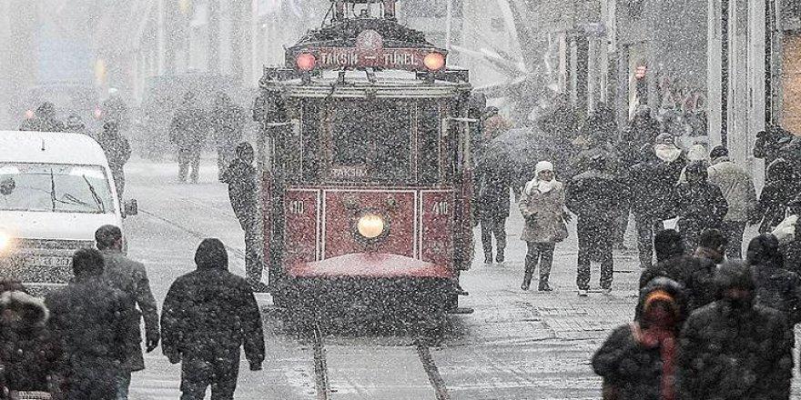 İstanbul'a beklenen kar geliyor! İşte tarihi!