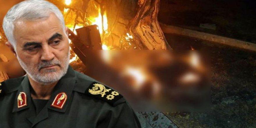 Süleymani'nin suikast anında çekilen ölüm görüntüleri basına sızdırıldı