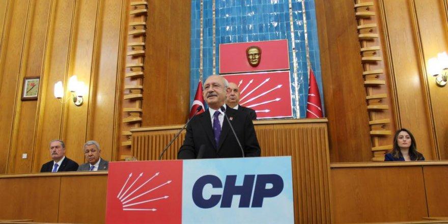 CHP lideri Kılıçdaroğlu, grup toplantısında konuştu!