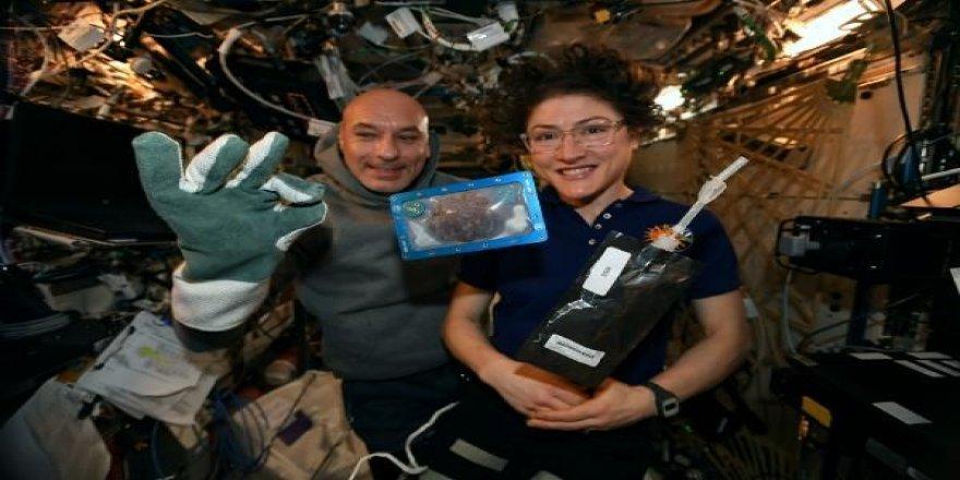 ABD'li astronottan uzay kurabiyesi