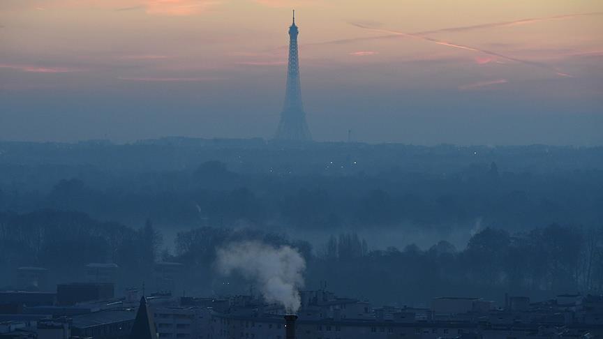 Fransa'da hava kirliliği