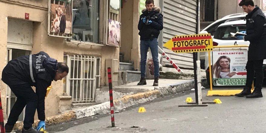 İstanbul'da HDP İl Başkanlığı önünde havaya ateş açıldı!