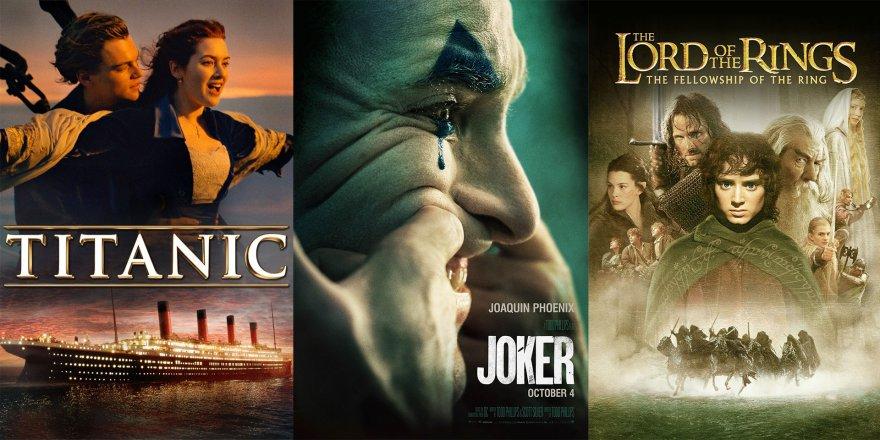 Joker, Titanic ve Yüzüklerin Efendisini geçebilir mi?