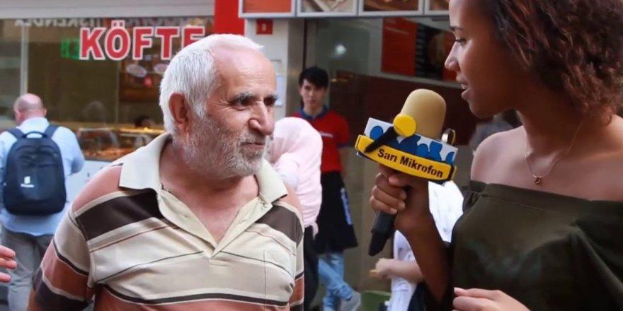 'Taksim dayı' Taksim'e gidince ilgi odağı oldu!