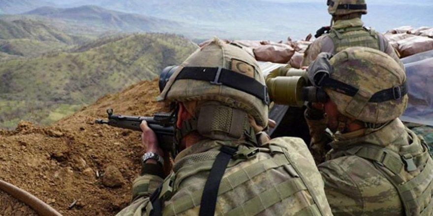Irak'ın kuzeyinden acı haber! 1 askerimiz şehit oldu