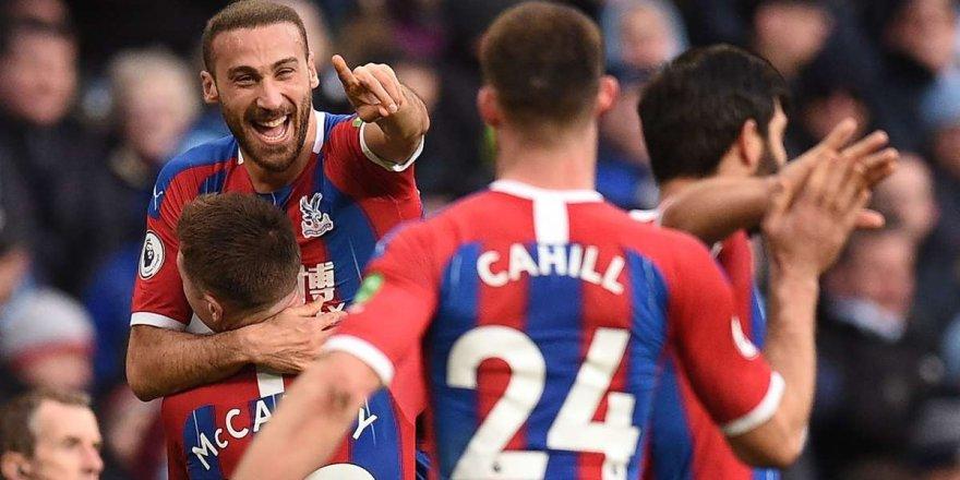Cenk Tosun Crystal Palace'ta ilk golünü attı