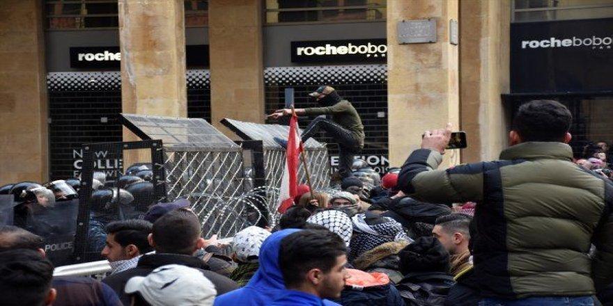 Lübnan'daki gösterilerde 220 kişi yaralandı!