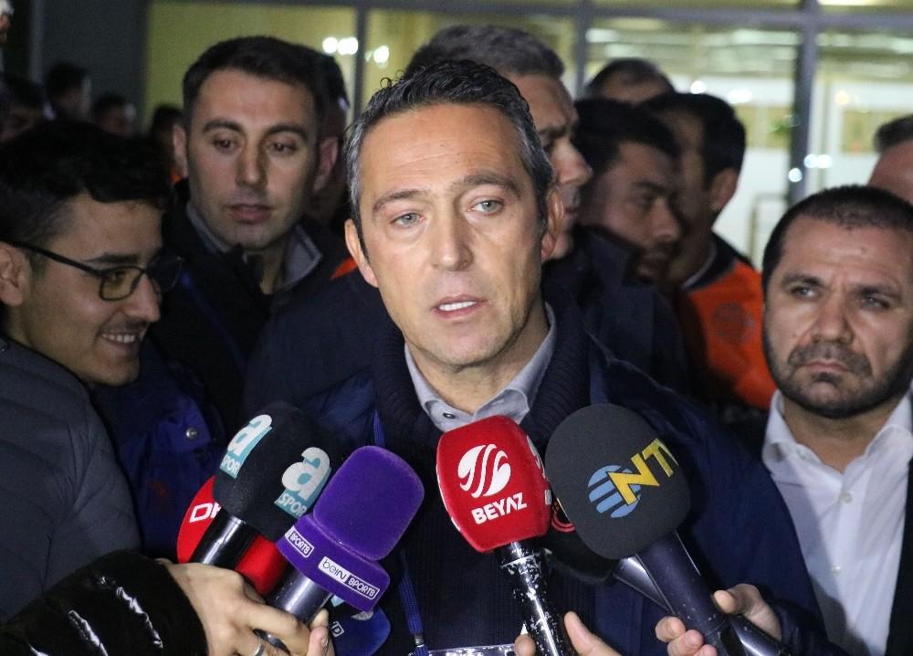 Fenerbahçe Başkanı Ali Koç: Sol bek alacağız