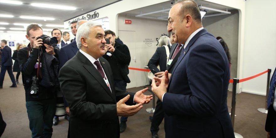Bakan Çavuşoğlu Davos'ta