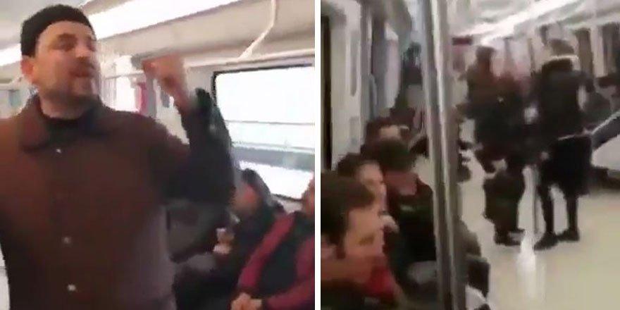 Metroda FETÖ propagandası iddiasıyla 4 kişiye gözaltı