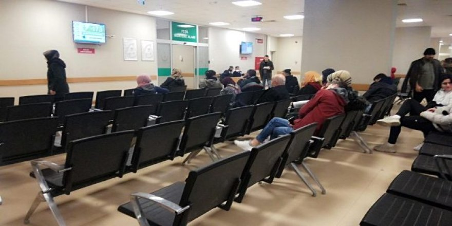 Devlet hastanesi domuz gribi şüphesiyle kapatıldı