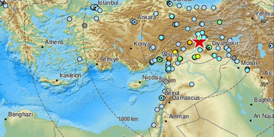 Elazığ'daki deprem bu ülkelerde de hissedildi!