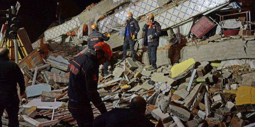 Elazığ depremi ile ilgili ABD'den korkutan harita!