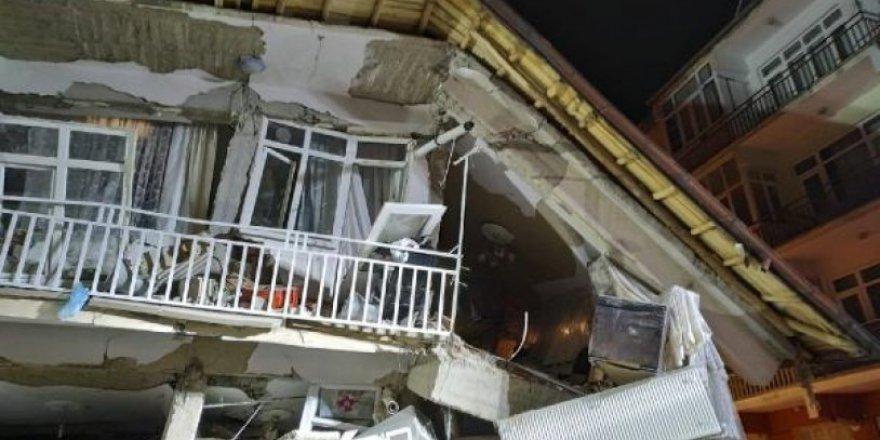Deprem sırasında kalp krizi geçirdi