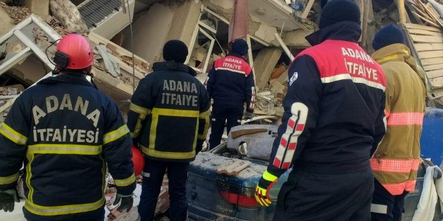 Adana Büyükşehir'den Elazığ'a uzman ekip