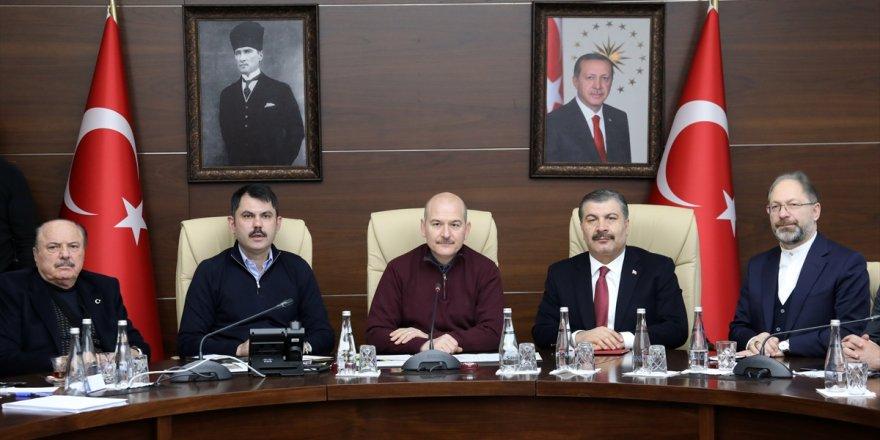 Üç bakandan Elazığ depremi hakkında yeni açıklaması!