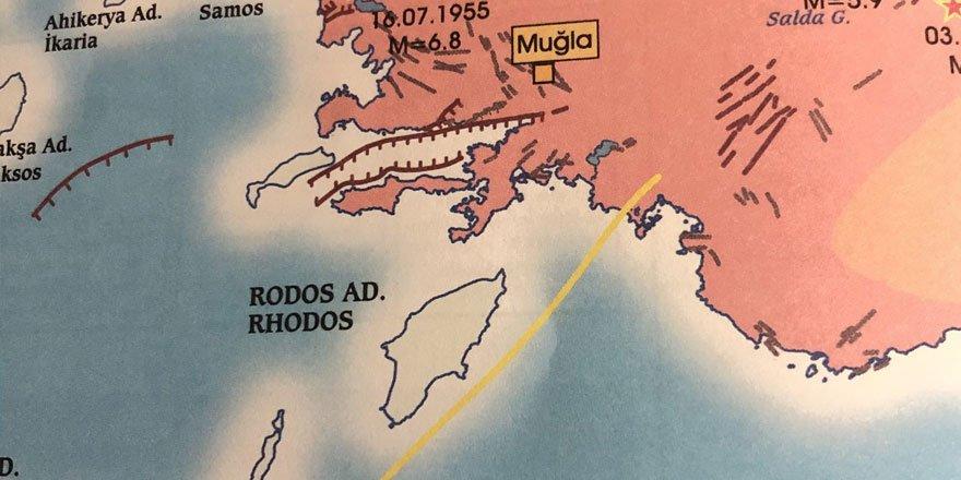Marmaris depremi yorumu: Sarı faya dikkat!