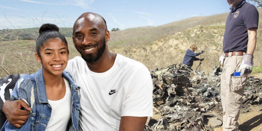Kobe Bryant ve kızının enkaz görüntüleri yayınlandı... İşte dikkat çeken detay!
