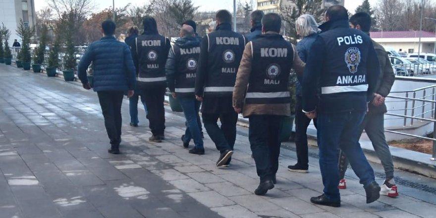 Başkent'te 'sahte rapor' operasyonu