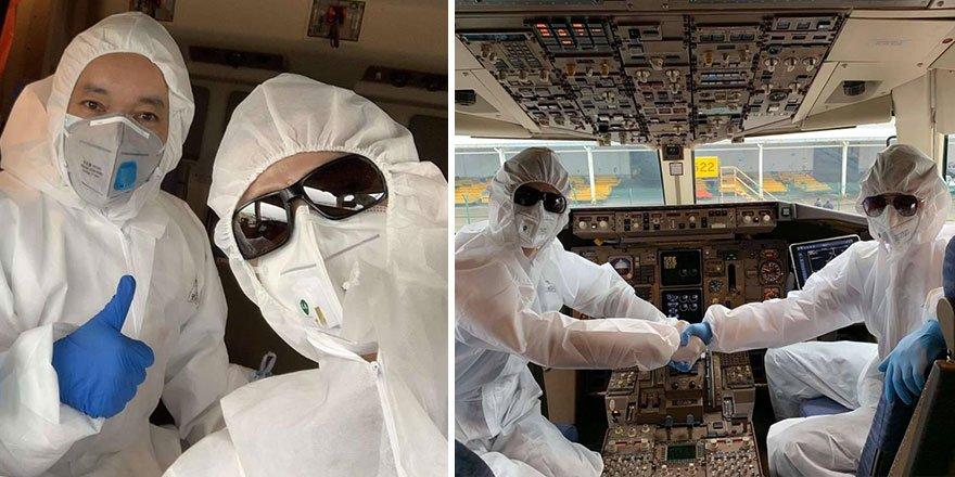 Pilotlar Çin'e böyle uçuyor!