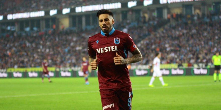 Trabzonsporlu Sosa, kilolarca et yedi!