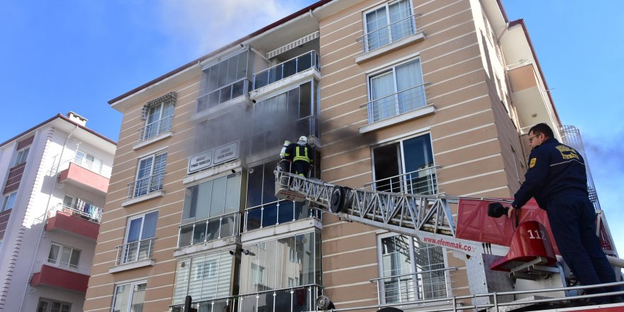 Muğla'da yangın sırasında yangın merdiveni skandalı yaşandı